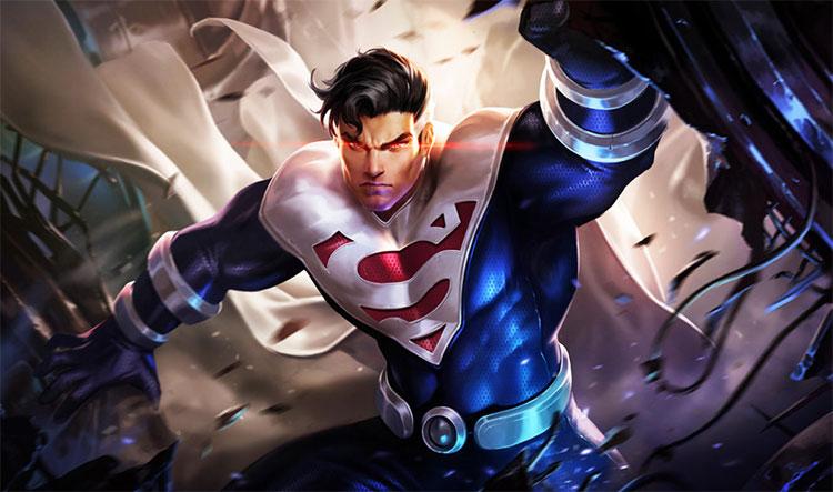 Cách chơi lên đồ bảng ngọc superman