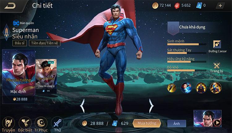 Mẹo khắc chế superman