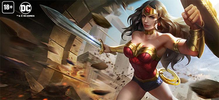 Cách chơi lên đồ bảng ngọc Wonder Woman